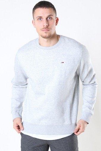 Regular Fleece Crewneck Light Grey