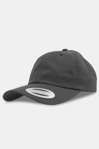 Flexfit Low Profile Cotton Twill Baseball Caps Dark Grey
