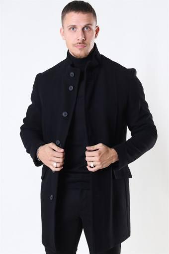 Morrison Uldfrakke Black