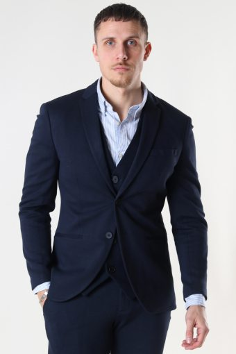 JJEPHIL JERSEY BLAZER Dark Navy SUPER SLIM FIT