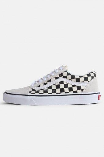 Old Skool Checkerbord Sneakers White Black