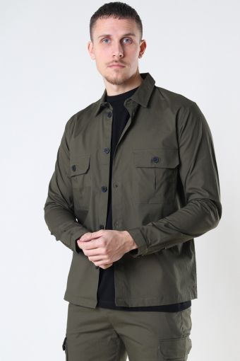 Copenhagen Ripstop Stretch Overshirt Army
