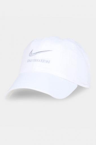 SB H86 Twill Caps White/Grey