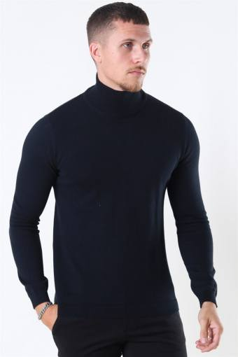Luno Rollneck Strikke Black