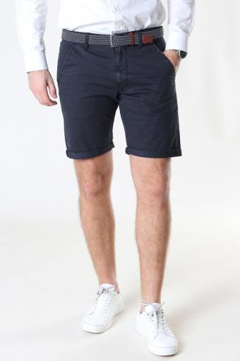 Louis Black Shorts inkl. Belte