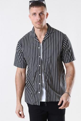 Ross Skjorte S/S Black