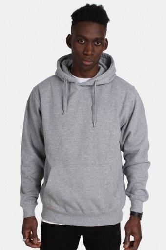 Hooded Genser Oxford Grey