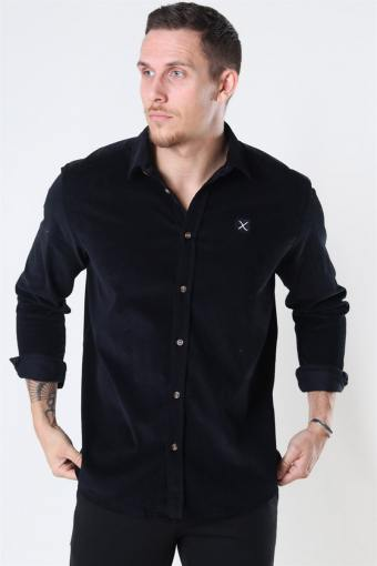 Clean Cut CordKlokkeoy Shirt LS Black
