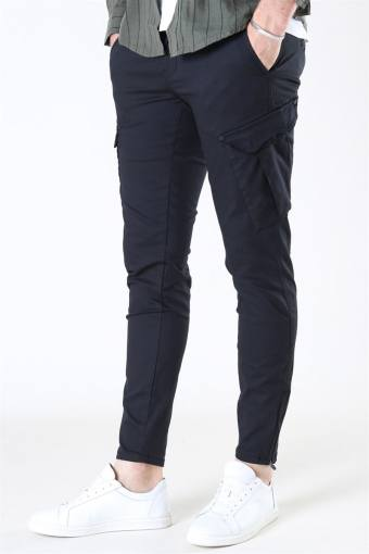 Pisa Dale Cargo Pants Black