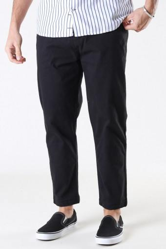 Mr Yellow Twill Pants Black