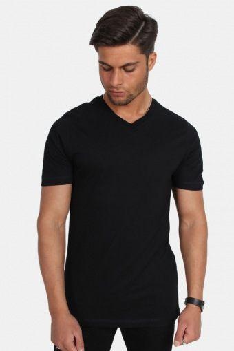 Uni Fashion V T-skjorte Black