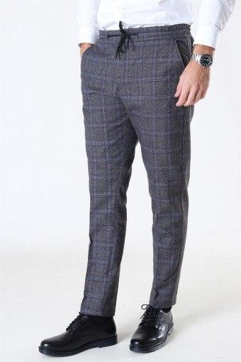 Tailored & Originals Salman Pants Medium Grey Melange