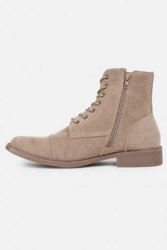 Boots Semsket Taupe