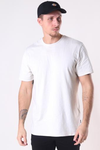 ONSMILLENIUM LIFE REG SS WASHED TEE NOOS Bright White