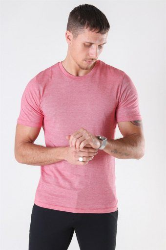 The Perfect Mel SS O-Neck T-shirt Goij Berry/Bright White