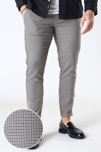 Pisa Beige Check Pants