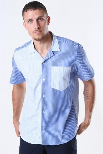 Rant Cuba Patch Skjorte White/Blue