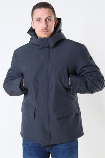 Mads Technical Warm Parka Jakke Grey