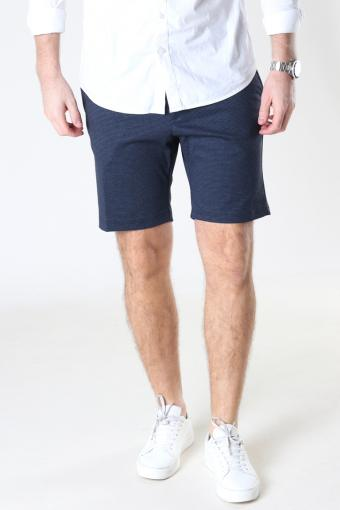 JJIPHIL CHINO SHORTS NOR STS Navy Blazer HERRINGBONE