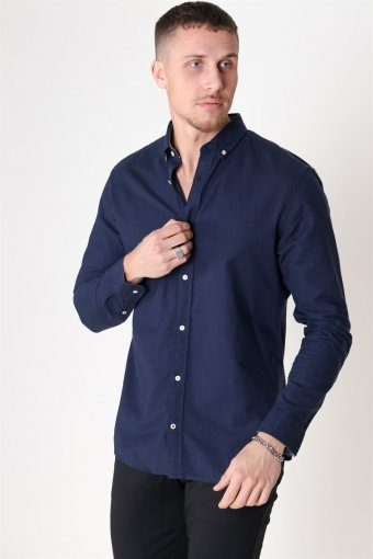 Summer Skjorte L/S Navy Blazer