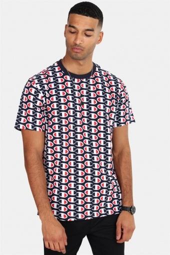 Crewneck T-skjorte NNY/Allover