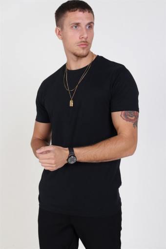 Rock S/S Organic T-skjorte Black