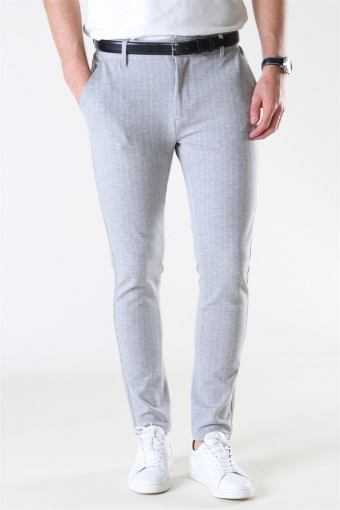 Ponte Roma Plain Light Grey Melange/White Pin