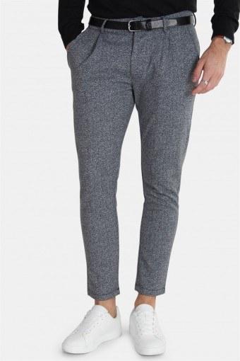Herring Genser Pants Light Grey Melange