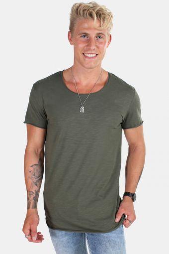 Jack & Jones Bas T-skjorte SS U-neck Noos Thyme