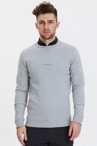 Lens Sweatshirt Grey Melange