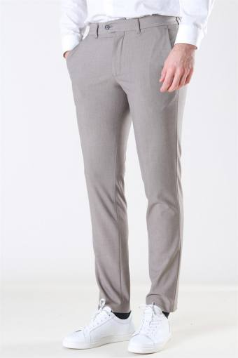 Slim-Carlo Flex StructKlokkee Pants Sand