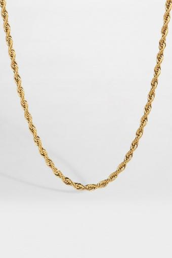 Rope Halskjede Guld