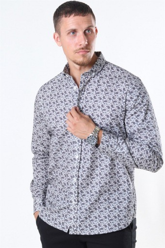 Clean Cut Sälen 151 Skjorte Grey