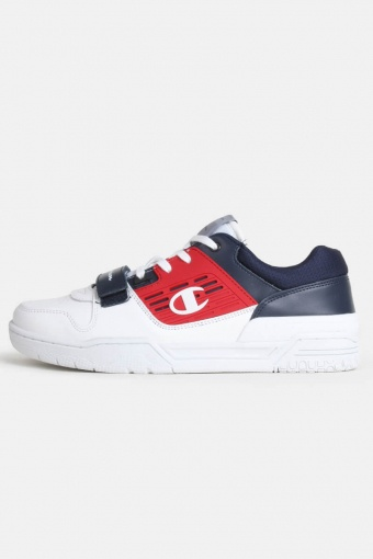 3 on 3 Sneakers White/Navy