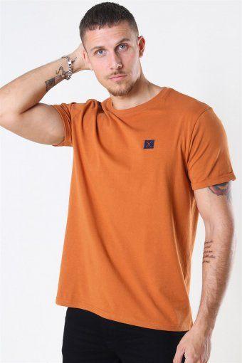 Clean Cut Basic Organic T-shirt Dusty Orange