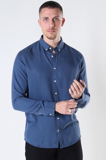 Johan Tencel shirt Blue