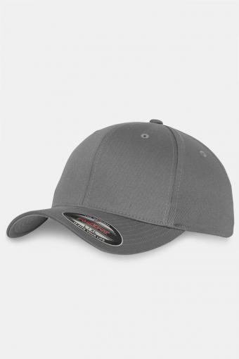 Flexfit Wooly Combed Original Caps Grey