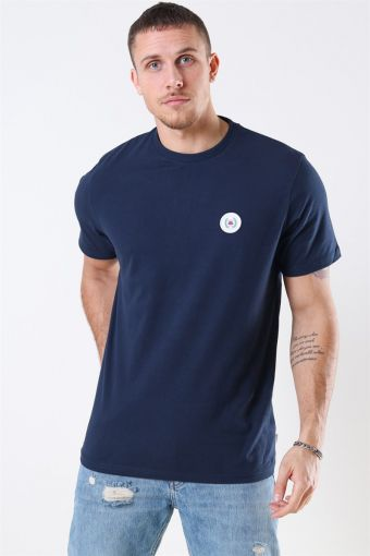 Our Jarvis Patch T-shirt Navy