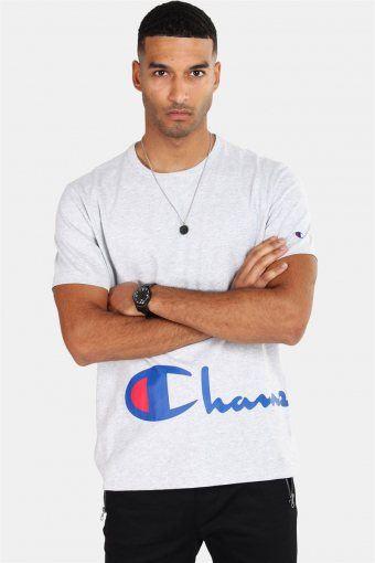 Crewneck T-skjorte Light Grey
