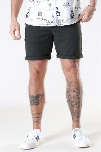 Steffen Twill Shorts Army