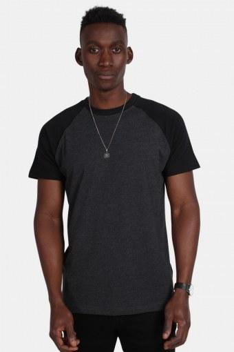 Klokkeban Classics Tb639 T-shirt Charcoal/Black
