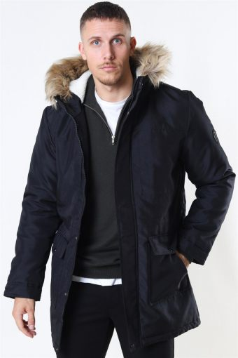 Basil Parka Jacket Black