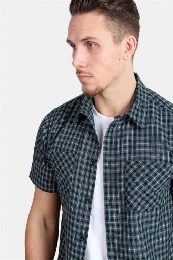 Trays S/S Prime Skjorte Black/Green