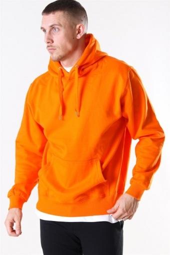 Hooded Genser Orange