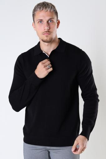 ONSCHRISTOPH LIFE POLO KNIT Black