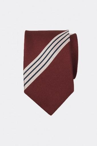 Stripete Slips N23-4 Hvid/Rød/Sort