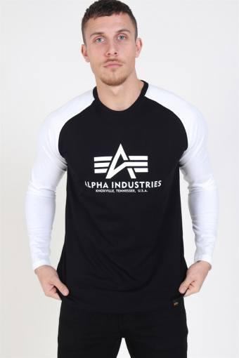 Basic LS T-Shirt Black/White