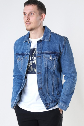 Organic Denim Jacket 129 LIGHT WASH