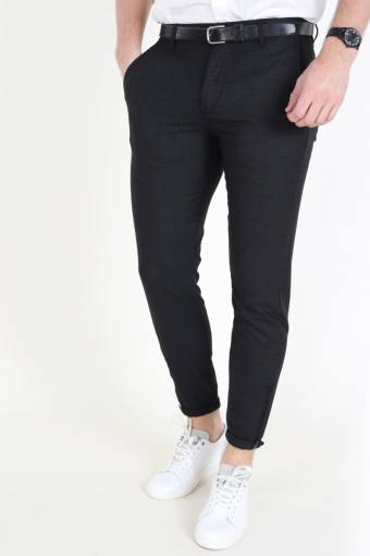 Pisa Cross Pants Dark Grey