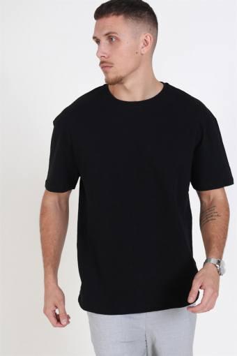 Nordhavn Oversize T-skjorte Black